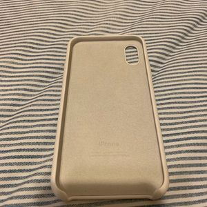 NWOT Apple iPhone XS silicon case